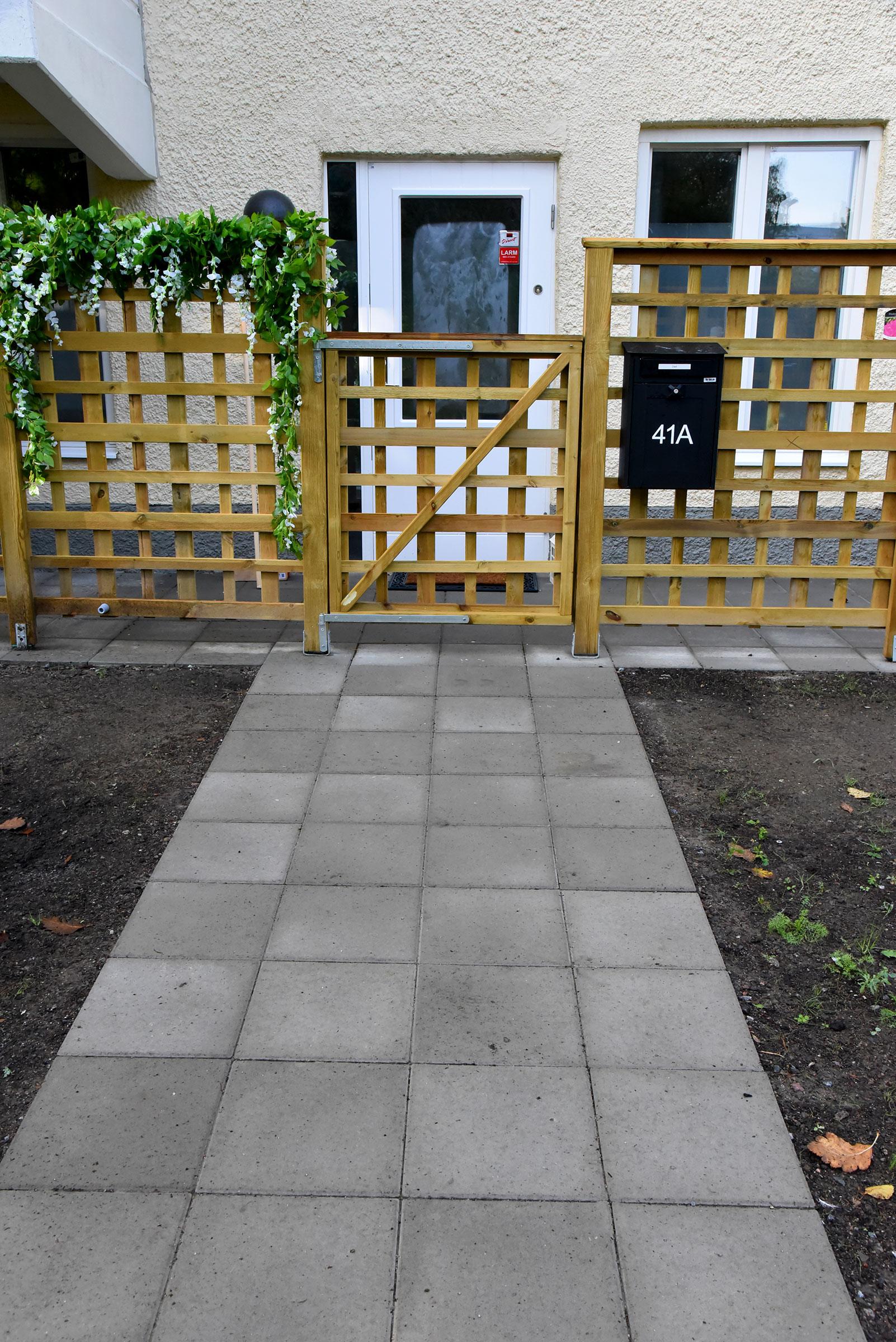 Asfaltering, staketbygge och plattläggning Granängsringen