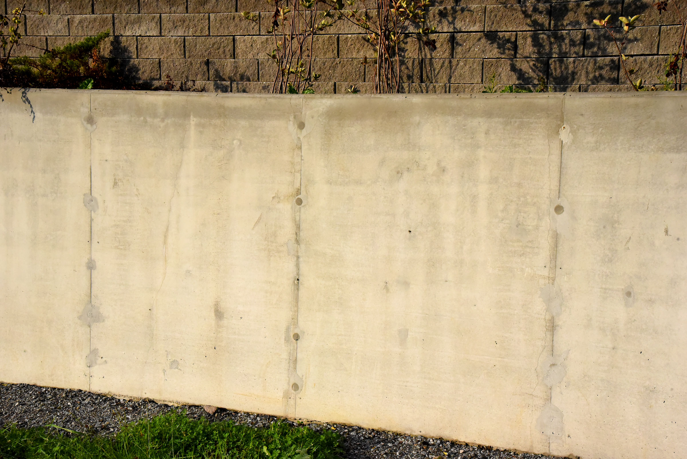 Tillverkning stödmur
